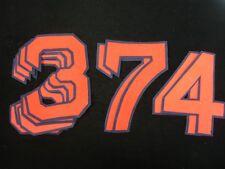 Lot of 9 Original 1960's/70's Boston Red Sox Felt Numerals