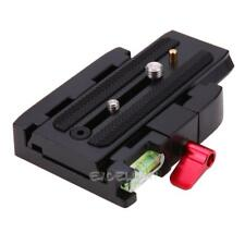 Quick Release Plate P200Clamp Adapter for Manfrotto 577 501 500AH 701HDV 50 E0Xc
