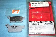 plaquettes de frein arr  BREMBO Kawasaki KX 125 250 500 Suzuki RM HONDA CR 80 85