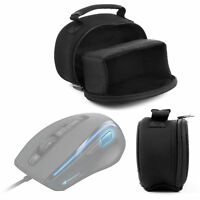 Black Lightweight Padded Carry Case Bag For Roccat Kone XTD Gaming Mouse