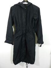 veste manteau parka long noir Etam  taille 38 tbe  (C1210)