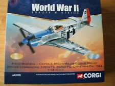 CORGI AVIATION ARCHIVE AA32205 P-51D MUSTANG CRIPES A MIGHTY WORLD WAR TWO EUROP