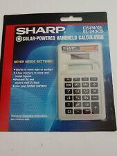 Sharp Solar Powered Calculator EL-243CB
