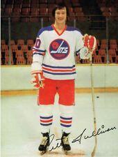 1977 Winnipeg Jets Home vs Quebec Nordiques WHA World Hockey Association Program