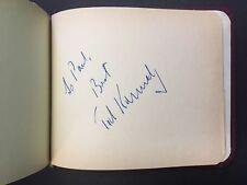 PAVAROTTI, MOFFO, NILSSON, et al.: 1960's Opera, Dance & Film Autograph Album