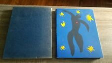 JAZZ HENRI MATISSE PUBLISHED BY GEORGE BRAZILLER 1983 PAPERBACK WITH SLIPCOVER
