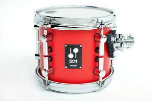 Sonor SQ1 8x7 Tom Tom Hot Rod Red