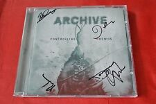 Controlling Crowds by Archive (2009, WEA Int'l) Autographed Import France CD