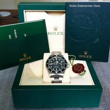 Rolex Submariner Date 16610 LN1996 T Serial Steel Original Box and Papers Watch