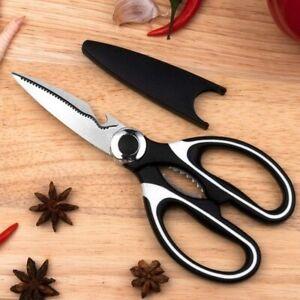 UK Kitchen Scissors Shears Heavy Duty Multi-Purpose Stainless Steel Chicken Bone