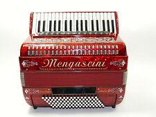 Akkordeon , Mengascini Da Capo , 96 Bass, Cassotto , a mano