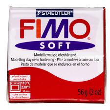 Fimo Soft Rosso 57 gr Staedtler