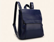 Japan Preppy Style Zipper School Bag - Blue (TFK042255)