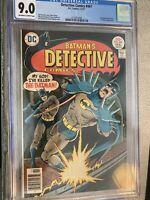 DETECTIVE COMICS 467 CGC 9.0 VF/NM OFF/WHITE PAGES BATMAN AUSTIN Art 1977 DC