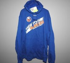 NHL Reebok New York Islanders Hooded Sweatshirt New Mens Sizes