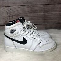 Nike Air Jordan Retro 1 High OG Yin Yang Pack White Kids Size 5y