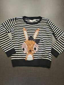 M/&S Toddler Fluffy Mouse Jumper 3-4 Years Brand New