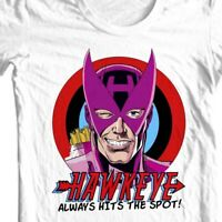 Hawkeye  HTS T shirt Marvel West Coast Avengers comic book retro graphic tee