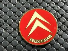 PINS PIN BADGE CAR CITROEN FELIX FAURE