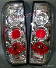 AFTERMARKET PAIR TAIL LIGHTS (RT & LF) FITS FRONTIER 2000 TO 2005 TAILLIGHTS