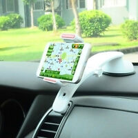 360° Universal Car Dashboard Mount Holder Stand Cradle for Mobile Phone GPS Q!