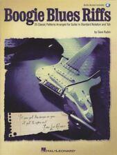 Boogie Blues Riffs Guitar TAB Music Book/Audio 25 Classic Patterns Dave Rubin