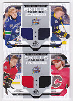 18-19 SP Game Used Johnny Gaudreau Mike Smith Jersey All-Star Skills Flames 2018