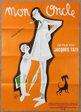 Jacques Tati MON ONCLE R1970 23x33 German Movie Poster 739