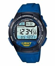 Casio professional running series blue watch timex athletic ironman forerunner