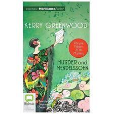 Murder and Mendelssohn (Phryne Fisher Mystery), Greenwood, Kerry, New Book