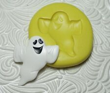Halloween Ghost Mold Silicone Resin Polymer Clay Fondant Flexible Push Mould