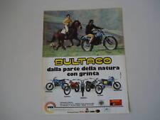 advertising Pubblicità 1979 BULTACO PURSANG/FRONTERA