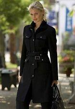 ladies Women's Outwear Winter Fall wool blend coat Long jacket plus size 14W XL