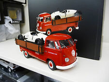 1:18 Schuco Schuco VW T1 Pick Up with  Formel V Racer FREE SHIPPING WORLDWIDE