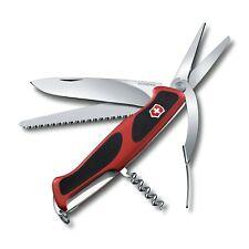 NEW VICTORINOX LARGE POCKET KNIFE RANGER GRIP 71 GARDENER RED/BLACK 0.9713.CUS1