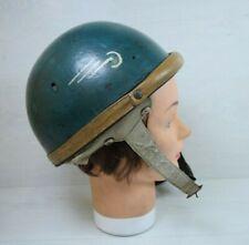 Vintage Collectible Retro Motorcycle Open Face Helmet Jawa Awo Simson CZ 50's