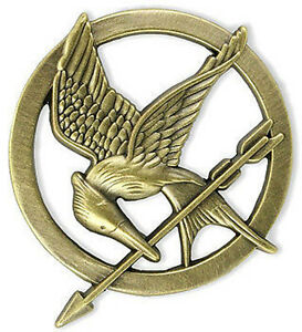 NEW NECA The Hunger Games Authentic Prop Replica Mockingjay Pin