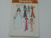 """Simplicity Doll Clothes Sewing Pattern 1975 11 1/2"""" 7210"""
