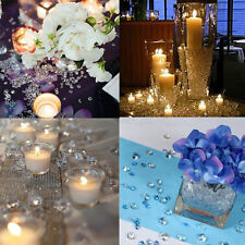 1000Pcs DIY Wedding Party Festive Decoration Transparent Acrylic Crystal Diamond