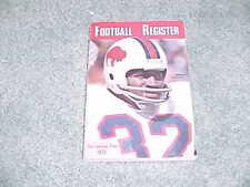 1975 NFL Football Register Media Guide Buffalo Bills O J Simpson Cover