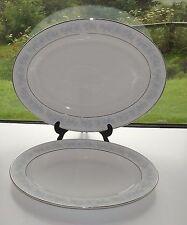 Royal Doulton Fine Bone China Meadow Mist 2 x Graduated Platters  H5007