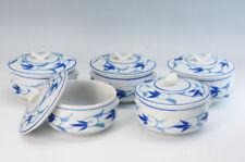 New listing Japan Porcelain Mini Casserole Gratin Dish Set 5pc 10.5 cm Auto Free Ship 166f02