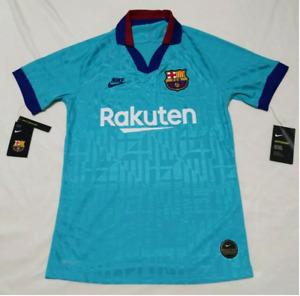 $165 Nike FC Barcelona Authentic Vaporknit Third 3rd Men Jersey 19/20 AR9343 Med