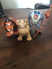 Disney The Lion King SCAR  NALA RAFIKKI Action Figures Posable LOT OF 3