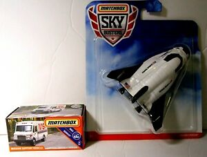 Matchbox Sky Busters Diecast NASA Space Ship Shuttle Rocket Dream Chaser Lot