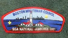 BSA 2001 National Jamboree light house  Boston Minuteman Council, MA  TU5