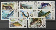 - Polen Poland 1979 Mi. Nr. 2616-2623 ** postfrisch MNH Fisch fish