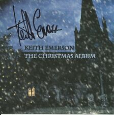 The Christmas Album * by Keith Emerson (CD, 2012, Keith Emerson) Original Signed