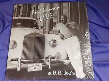 Original In Shrink Private Soul Jazz LP : Fred Johnson ~ Live at B.B. Joe's