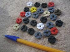 Lego 100 x aléatoire de petits morceaux de pièces Nouveau 1x1 Clou Fleur 1x2 plaque signalétique spéciale Mixte